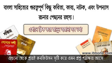 bangla-literature tips www.itmona.com