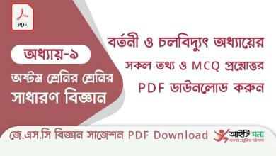 jsc-general-Science-suggestion-suggestion-pdf-download-chapter-9