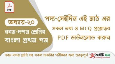 ssc-bangla-first-paper-mcq-pdf-download-chapter-20