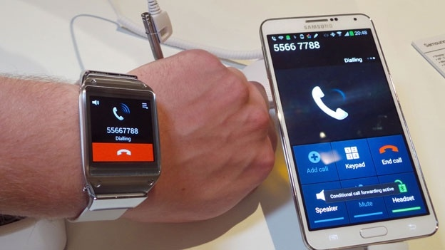 xl samsung galaxy gear phone to call in Samsung's new Smart Watch will be provided