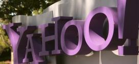 The Yahoo logo is shown
