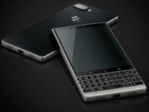 The new Key 2 device runs the Android operating system updates the first BlackBerry Key (pictured) which was released last year.