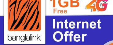 Banglalink 1GB Free Internet Offer