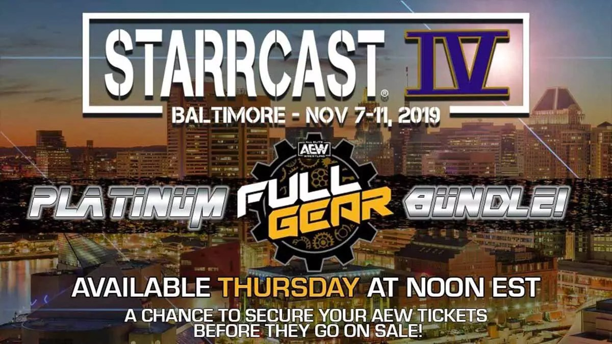 Starrcast Iv Event Announced For Aew Full Gear Weekend