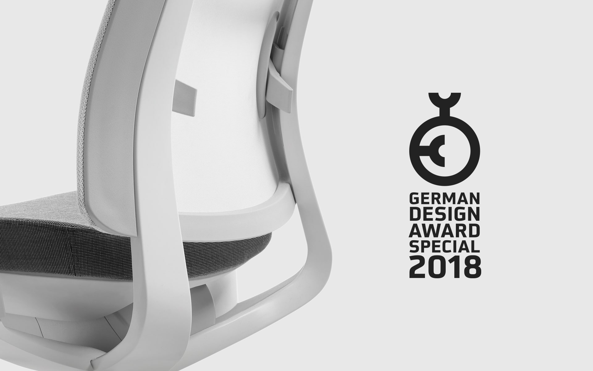 office chair good design fabric desk chairs with arms ito development profim violle by wins german award 2018