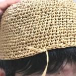 クラフトクラブの帽子(3):そりゃあ編みはほどけるからいいけどサ&ローソンの新発売フルーツサンドがうますな件。