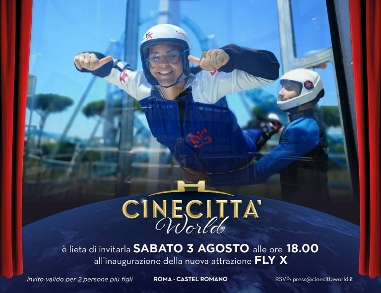 "Cinecittà World: in arrivo ""Fly X"""