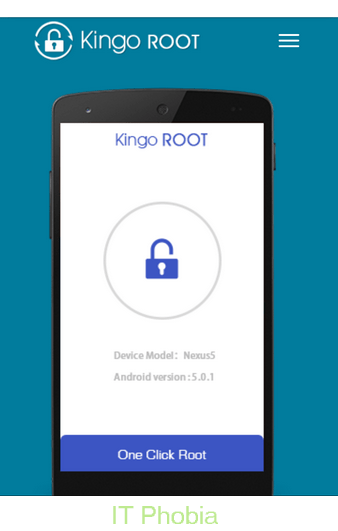 Kingo Android Root_one click