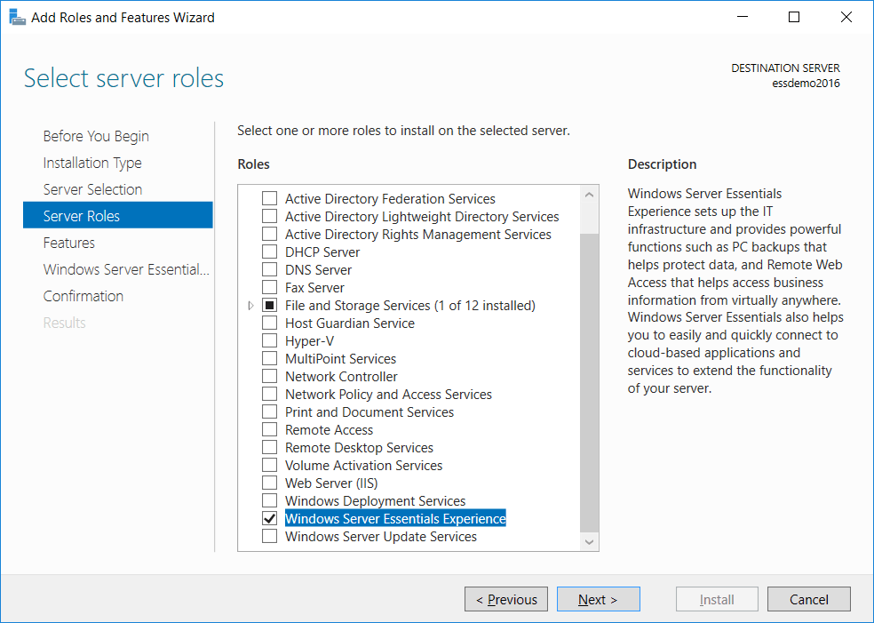 Active Directory Migration from SBS 2008 or 2011 to Windows