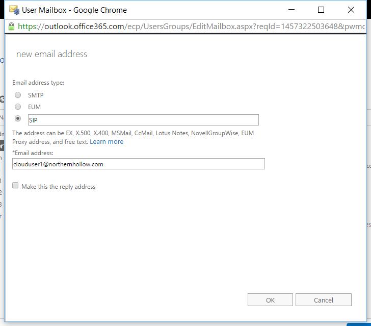 Windows Server 2016 Essentials Experience: Bug with alias addresses