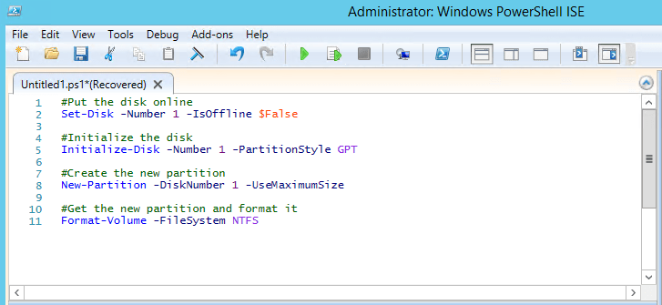 Scripting with ISE: Adding New LUNs, part 1 – ITProMentor
