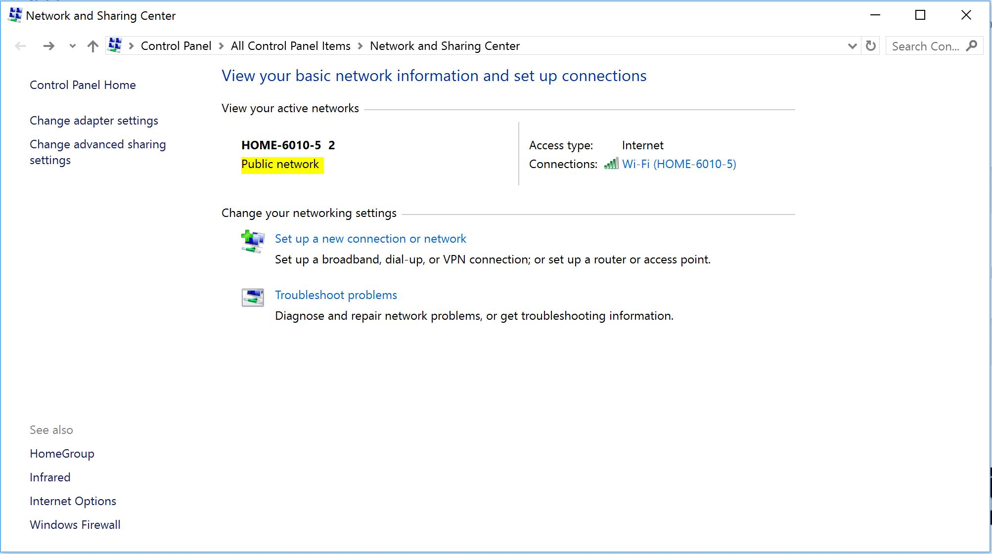 Setting up a vpn connection with windows 10