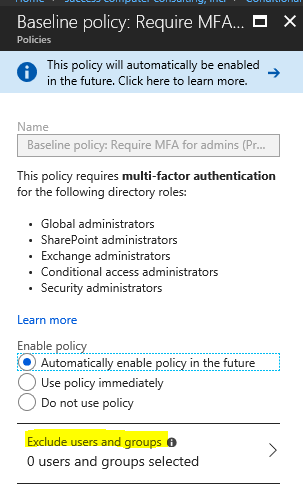 PSA: Go Setup Multifactor Authentication for Office 365