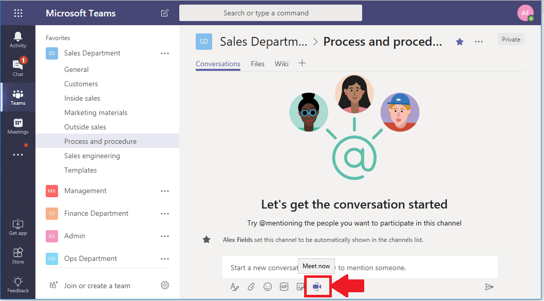 Replacing your traditional file server with Microsoft Teams