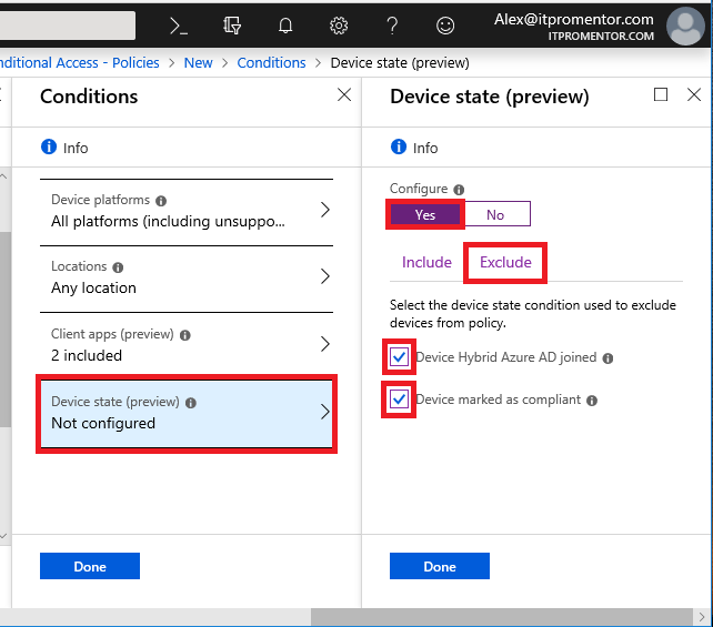 How to leverage Conditional Access policies to make MFA less