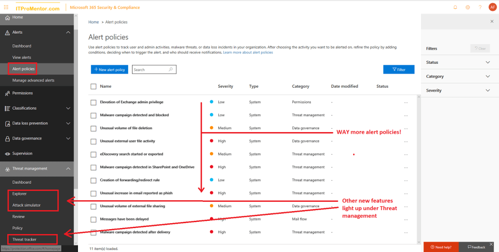 Office 365 Advanced Threat Protection Plan 2 – ITProMentor