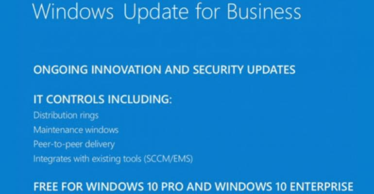 What Windows Update for Business is and what it is not