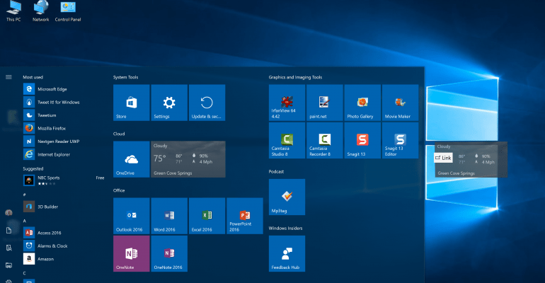 Windows 10 Many do not know this is possible but it only