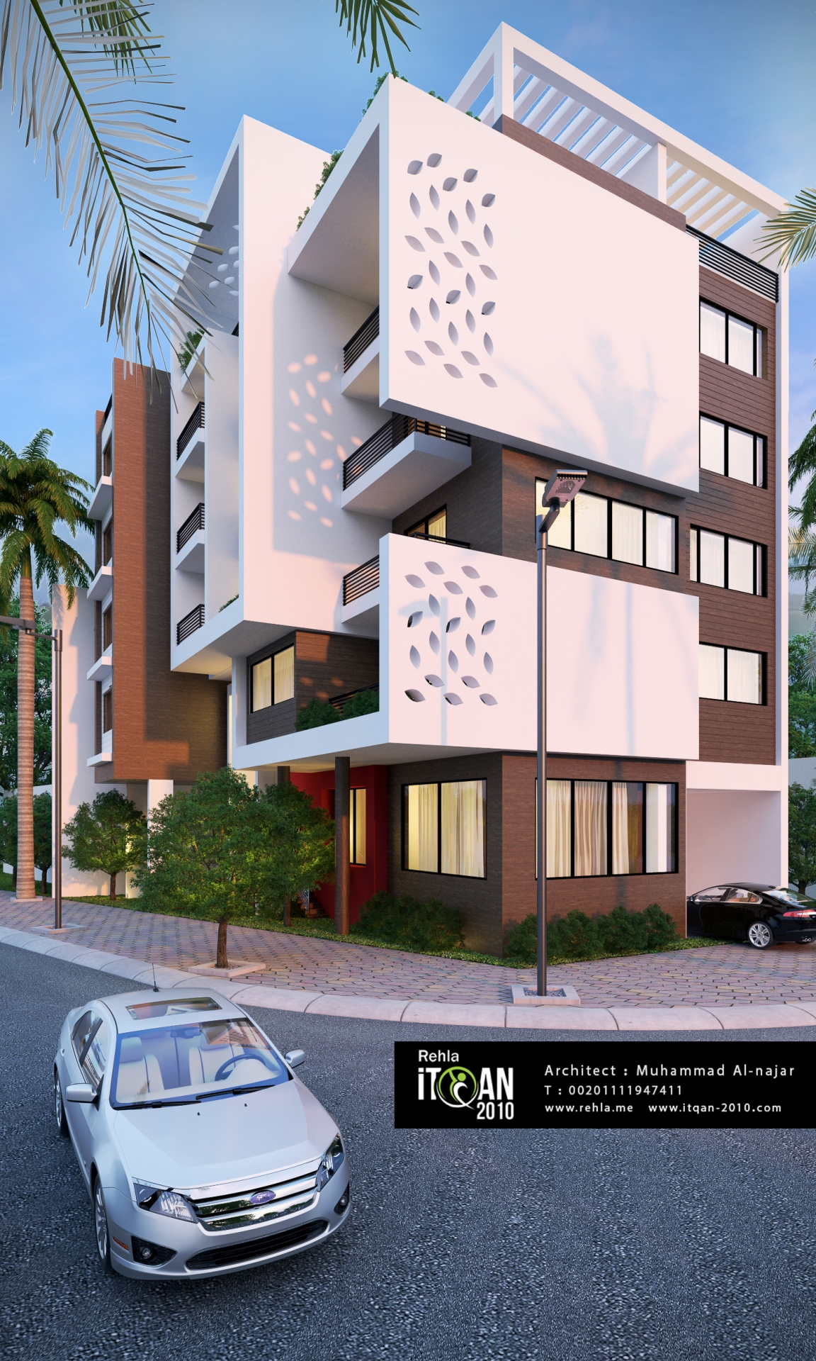 Modern residential building  ITQAN2010