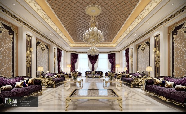 Classic Majles - Royal Style With Golden Touch Uae
