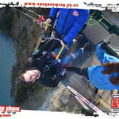 Canyon Swing Chair Queenstown Ab Exercises Vlog 43 Blog Experience Of Doing The