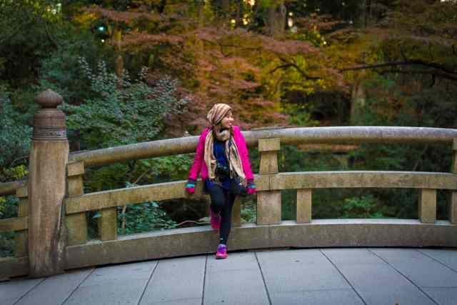 Roxanne in Tokyo, Japan