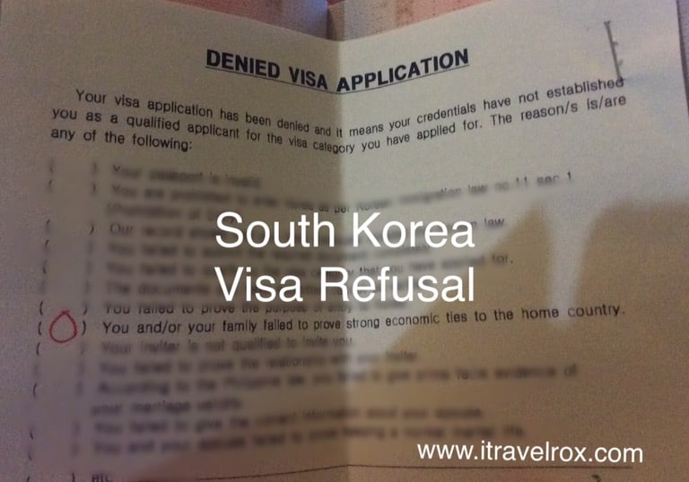 South Korea Visa Refusal - It's Heartbreaking but Time to Move On