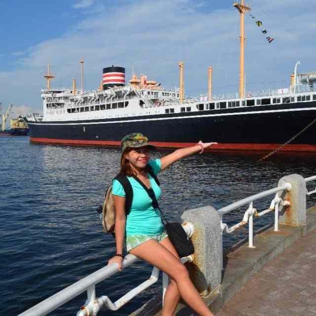 Checking out HikawaMaru near YamashitaPark Looks like Titanic at firsthellip