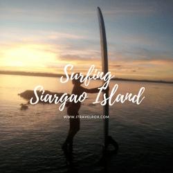 surfing siargao island