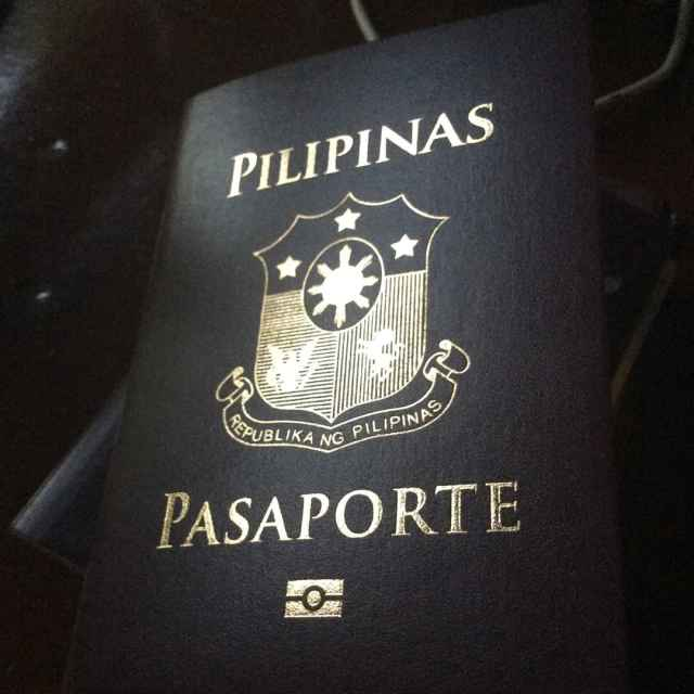 The new philippinepassport philippines passport feels so empty unlike thehellip