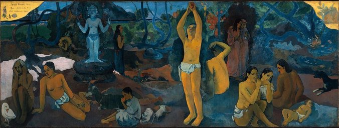Paul Gauguin paintings Where do we come from? Who are we? Where are we going?
