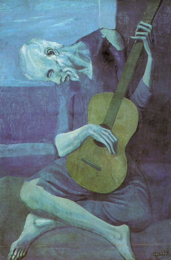 The Old Guitarist [1903]