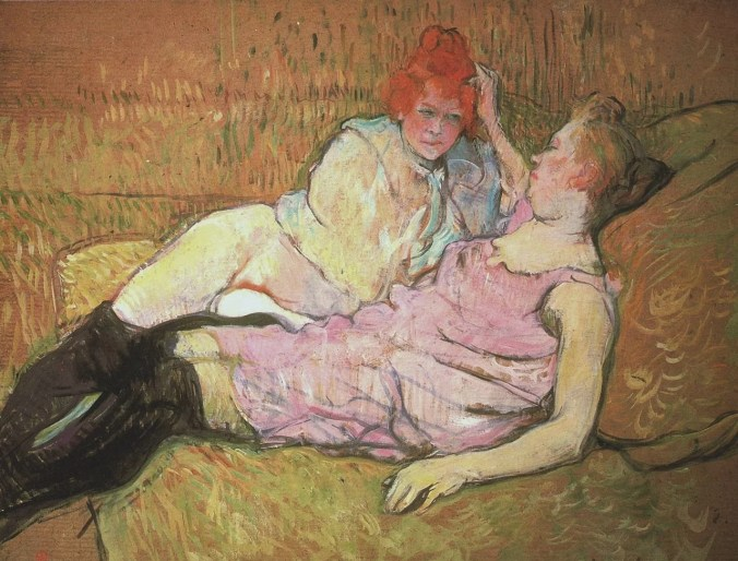 Toulouse Lautrec painting of prostitutes