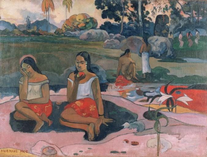 Sacred Spring: Sweet Dreams - Paul Gauguin paintings