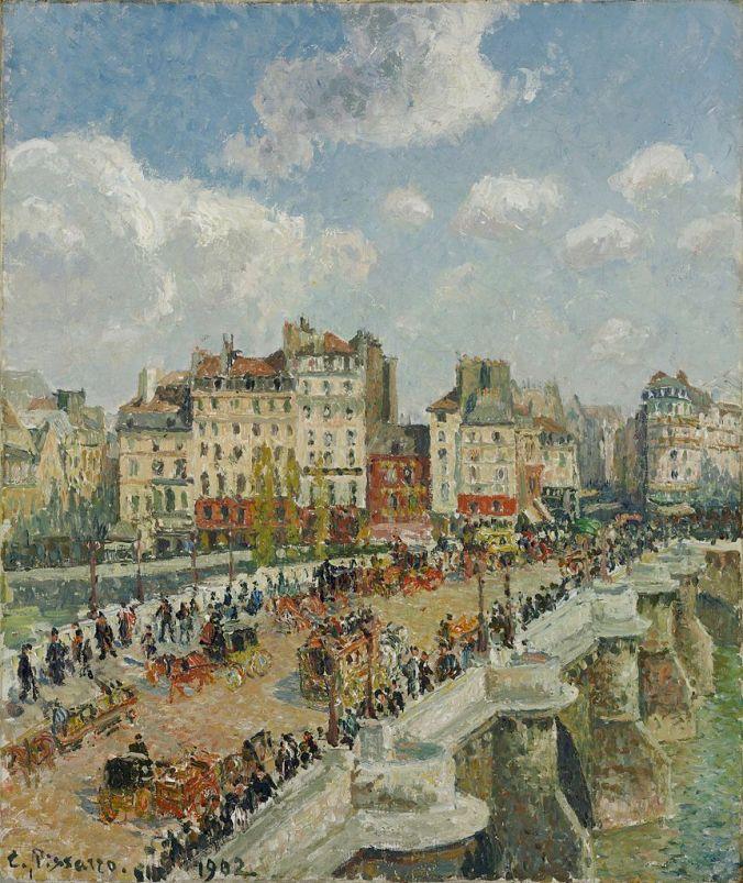 Camille Pissarro Painting of Paris