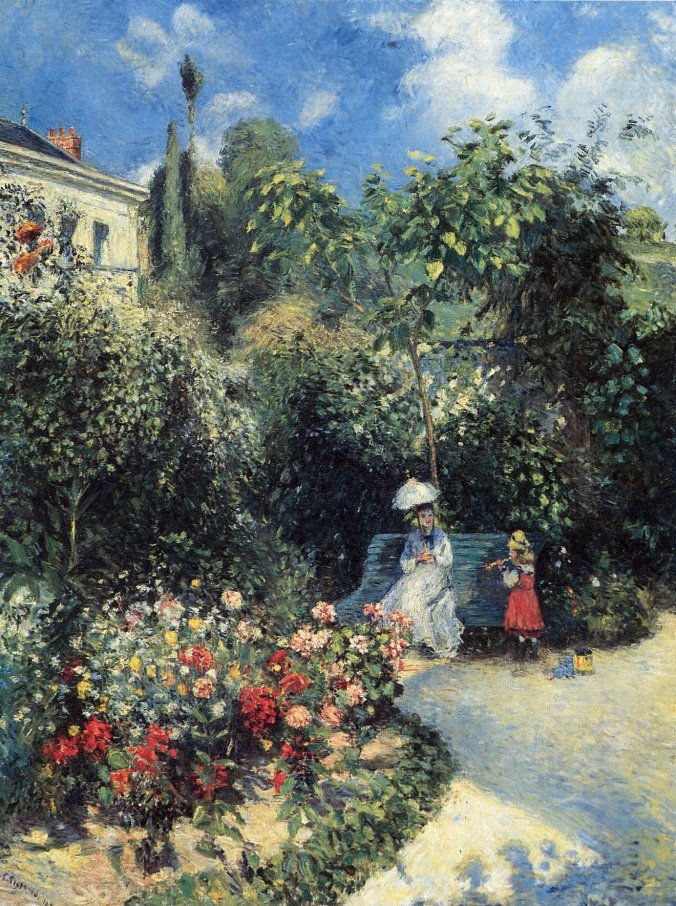 One of the leading French impressionist painters - Camille Pissarro