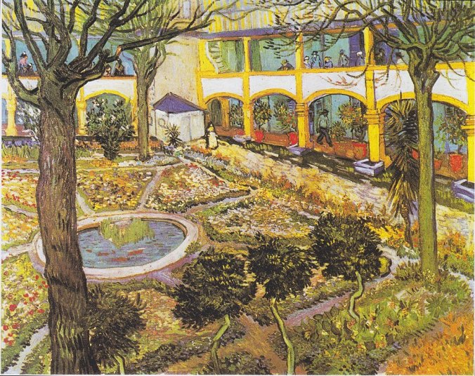 The hospital in Arles - Van Gogh painting