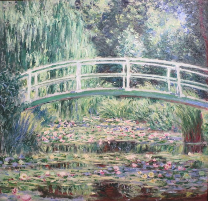 Giverny - Monet Painting of his Japanese Bridge