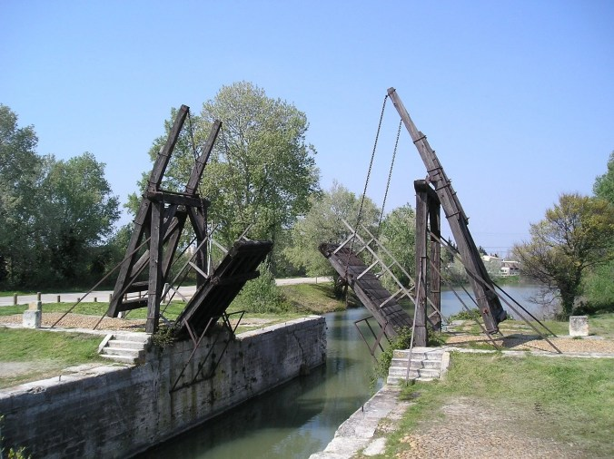 The Langlois Bridge at Arles - Following Van Gogh's footsteps