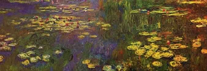 Impressionist art-Monet Painting of Water Lily Pond [Public Domain]