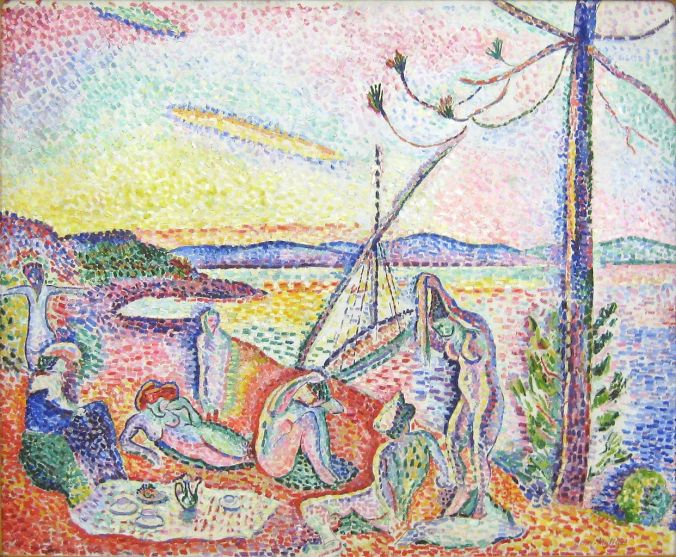 Henri Matisse Paintings-Pointillism Art