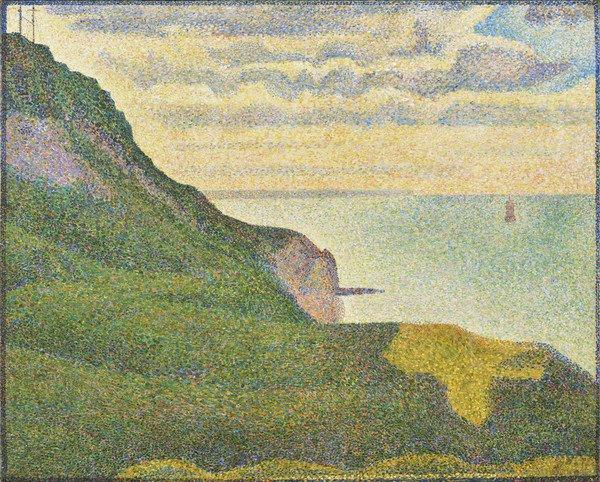 Georges Pierre Seurat painting