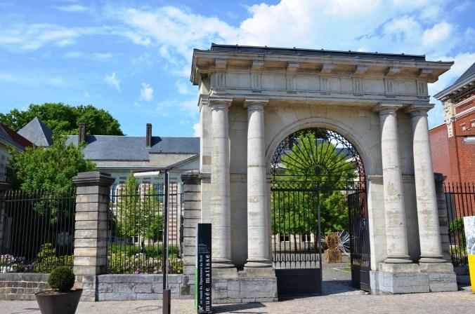 Entrance to the Matisse Museum, Le Cateau-Cambrésis - France travel