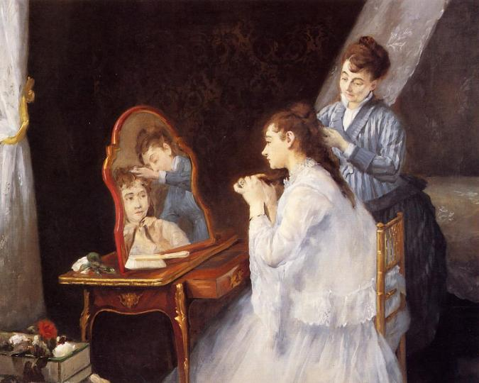 Eva Gonzales painting