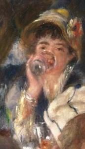 Renoir portrait of Ellen Andree