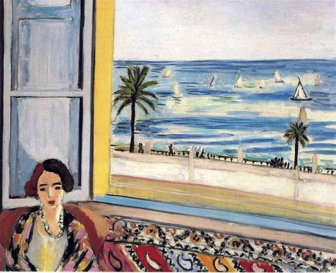 Seaside Village of Nice painted by Henri Matisse