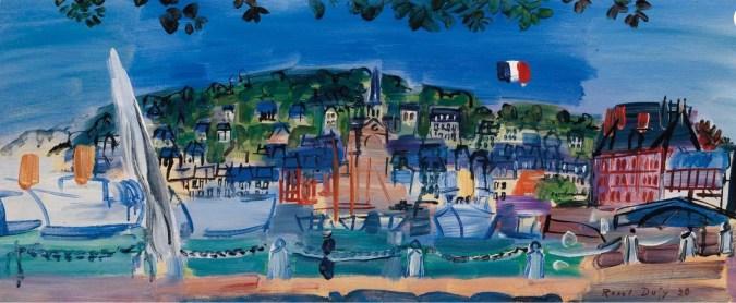 Raoul Dufy paintings - Famous landscape