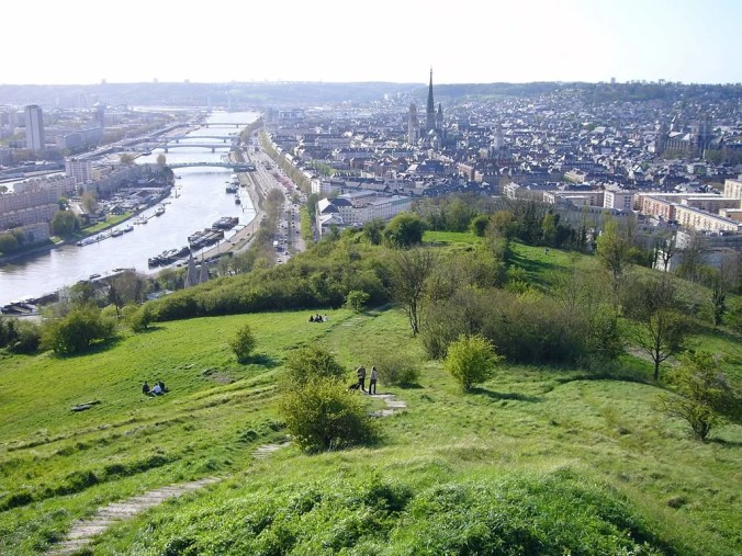 Rouen travel - Sainte Catherine Hill