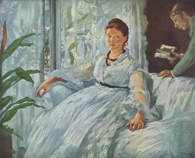 Portrait of Suzanne Manet & her son Léon Leenhoff