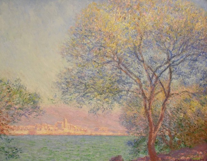Claude Monet Painting of Antibes